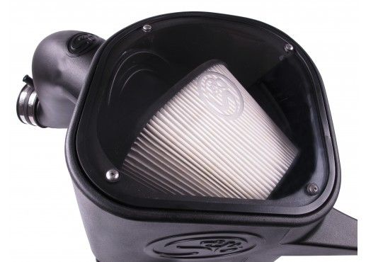 S&B Dry Cold Air Intake for 2013-2017 Dodge Ram Cummins 6.7L 75-5068D