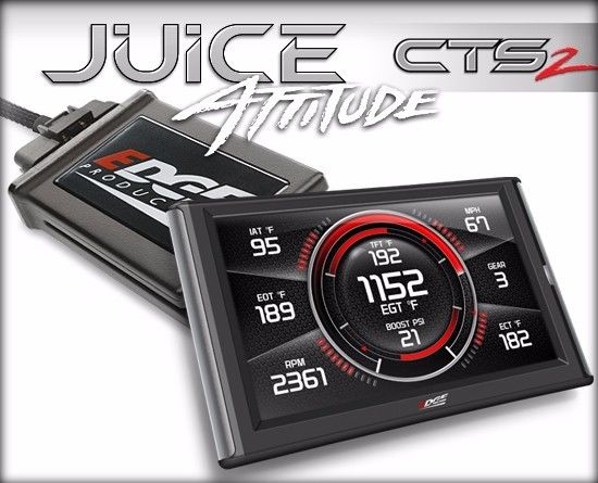 EDGE CTS 2 JUICE WITH ATTITUDE FOR 13-16 DODGE RAM CUMMINS DIESEL 2500 3500 6.7L
