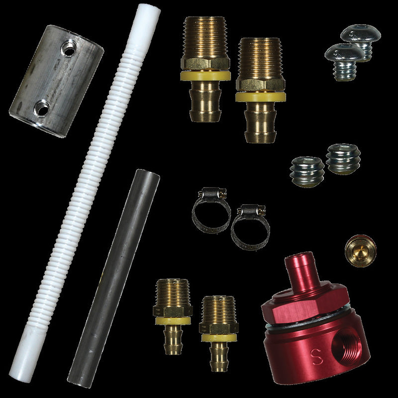FASS 5/8 IN FUEL MODULE SUCTION TUBE KIT INCLUDES BULKHEAD FITTING