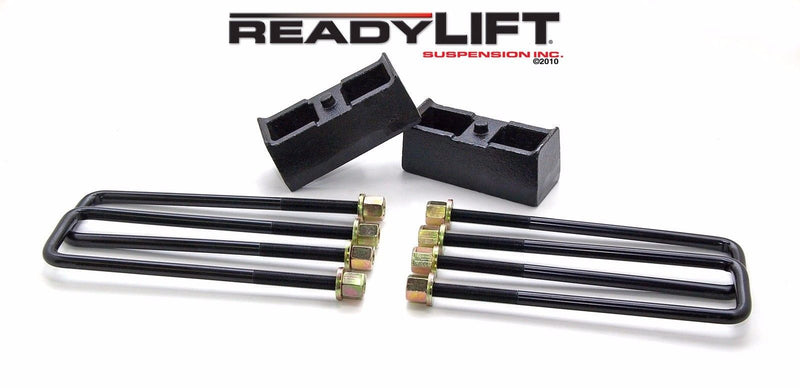 "ReadyLIFT 2.25"" Rear Block Kit for Chevy Silverado/Sierra 2WD/4WD"