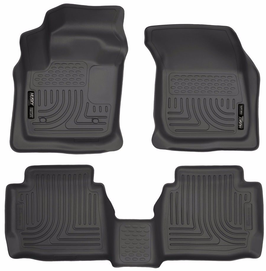 Husky Liners WeatherBeater Floor Mat Set 2013-2016 Ford Fusion Lincoln MKZ Black