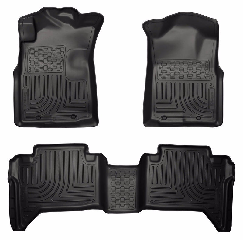 Husky Liners WeatherBeater Floor Mat Set 05-2015 Toyota Tacoma Double Cab