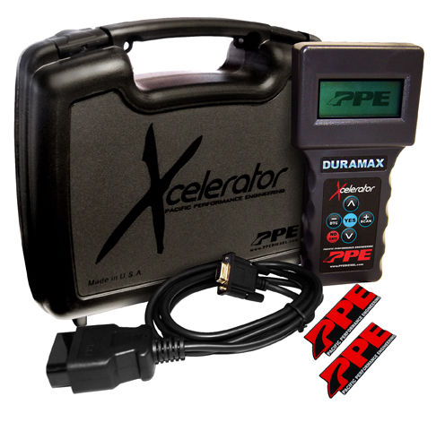 PPE Economy Xcelerator Programmer 01-10 Chevy/GMC Duramax 6.6L Diesel