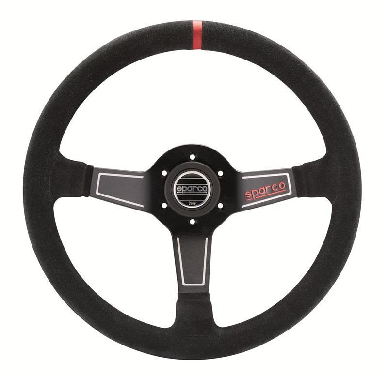 SPARCO STEERING WHEEL STREET K575 SUEDE Or Leather 350MM/63MM