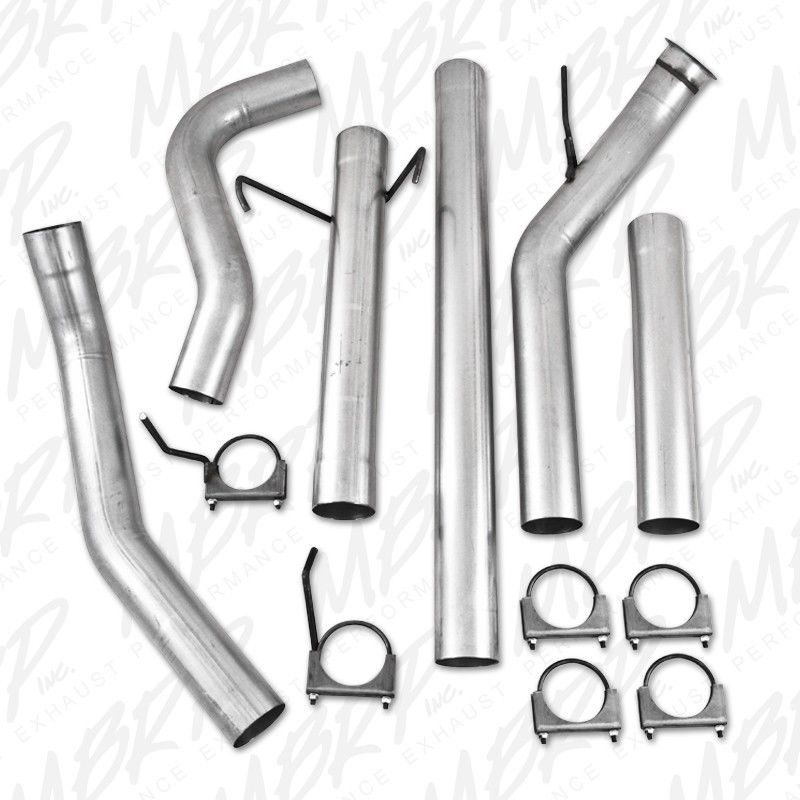 "MBRP 4"" TURBO BACK EXHAUST FOR 04.5-07 DODGE CUMMINS DIESEL NO MUFFLER 2500 3500"
