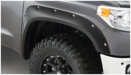 Bushwacker 14-18 Toyota Tundra Pocket Style Flares 4pc 66.7/78.7/97.6in Bed