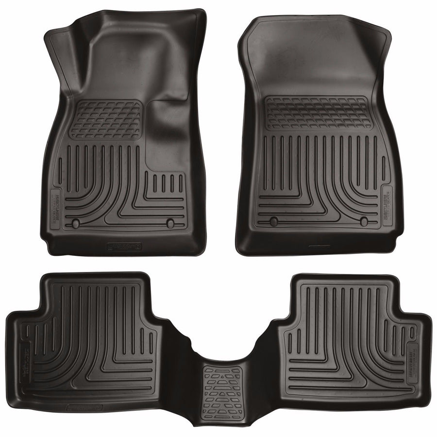 Husky WeatherBeater Floor Mats 14-2016 Mazda 6 Grand Touring/Sport/Touring Black