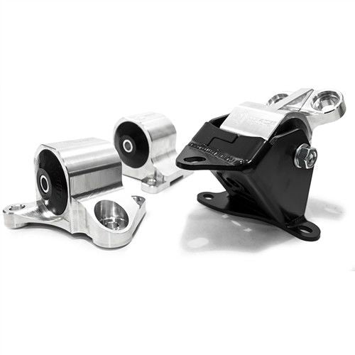 Innovative 96-00 Civic B/D Series Silver Aluminum Mounts 75A Bushings (2 Bolt)