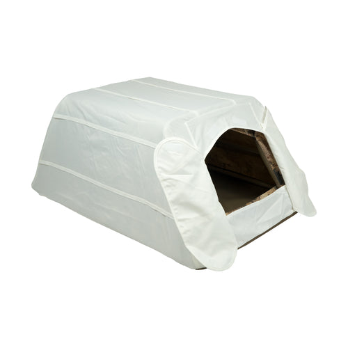 Dog Blind Snow Cover