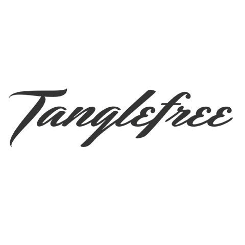 tanglefree-script-black-decal