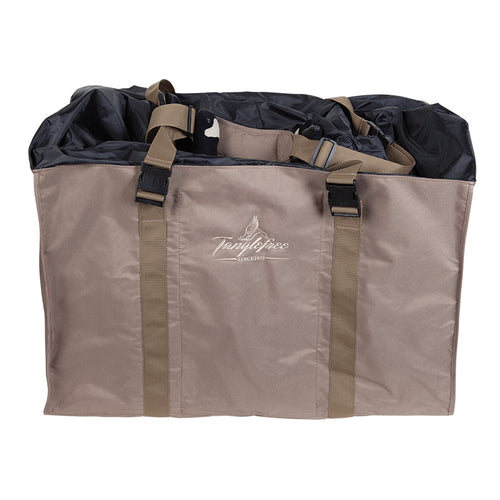 Six Slot Full Body Goose Bag with Nylon Top - Dirt