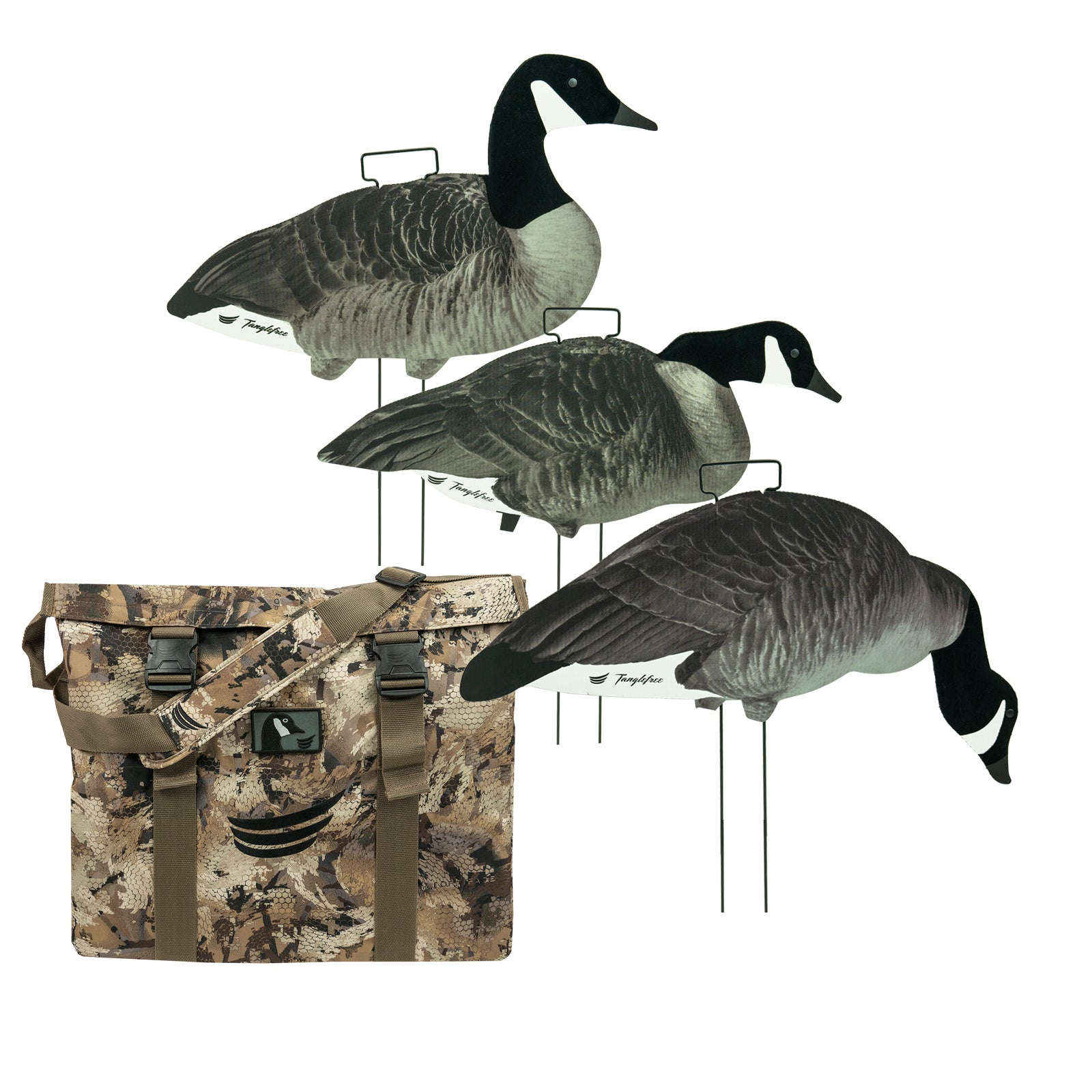 Lesser Canada Skinny Decoy 60 Pack with Flight Skinny Decoy Bag