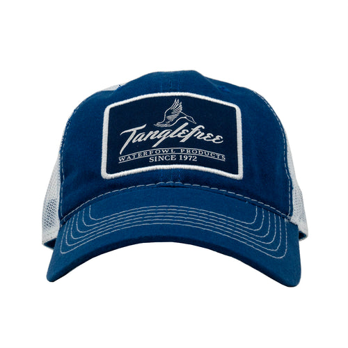 Tanglefree Royal Blue Mesh Snapback Hat