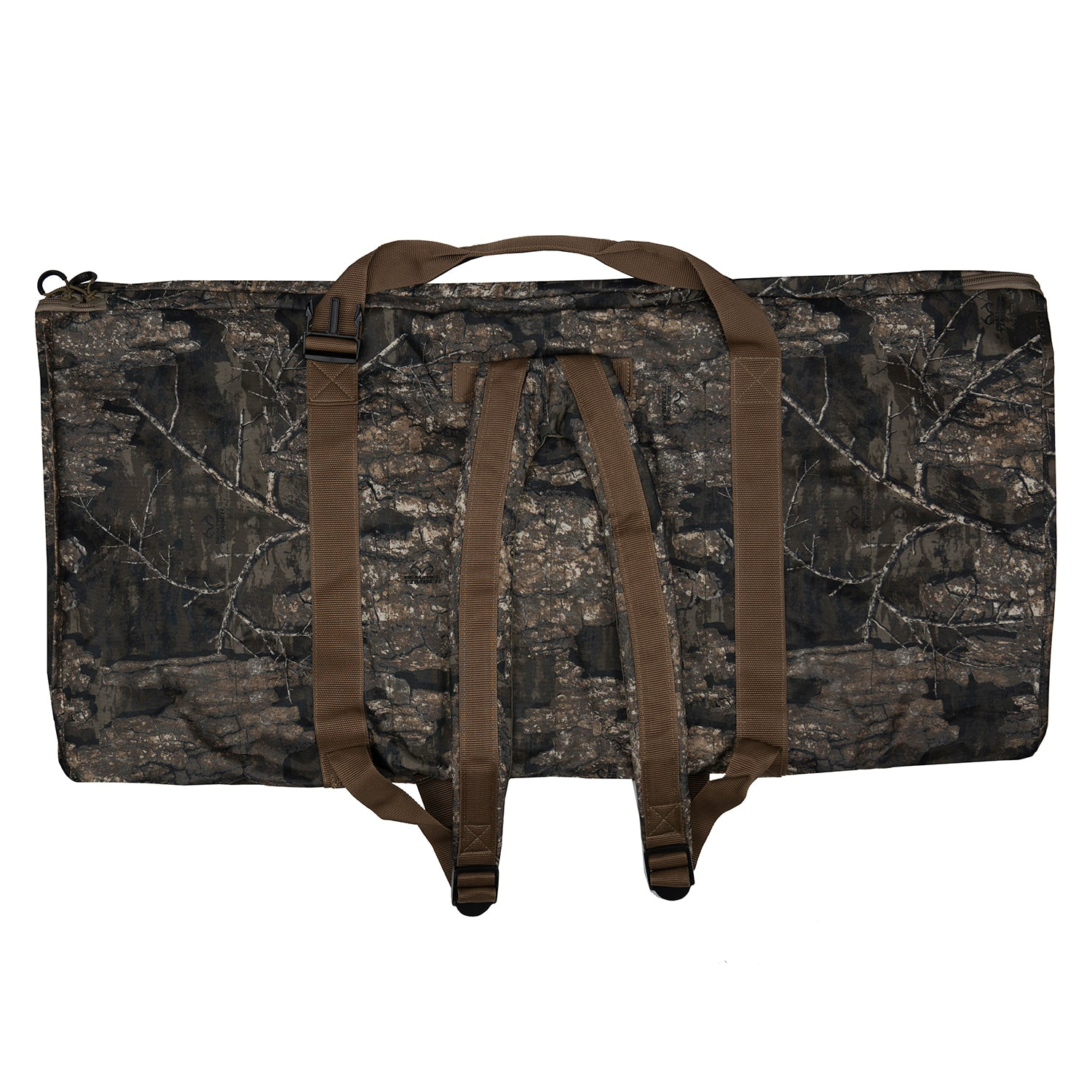 Deluxe 12 Slot Duck Decoy Bag – Realtree Timber