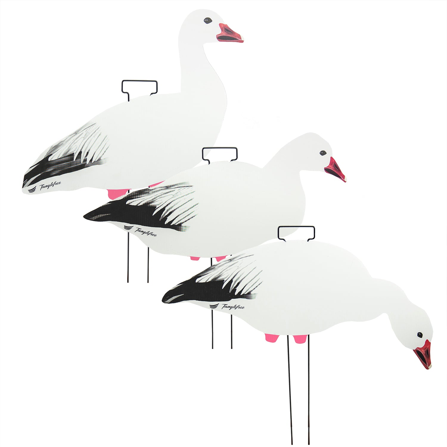 Snow Goose Skinny Decoys (12 Pack)