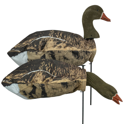Specklebelly Goose Slammer Sock – 12 Pack w/ Flocked 3d Head / Pre-Assembled