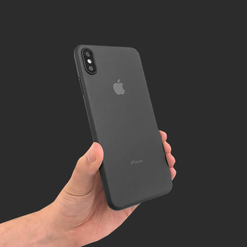 Slim Minimal iPhone Xs Max Case & Screen Protector