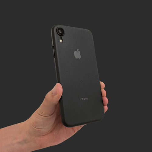Slim Minimal iPhone Xr Case & Screen Protector