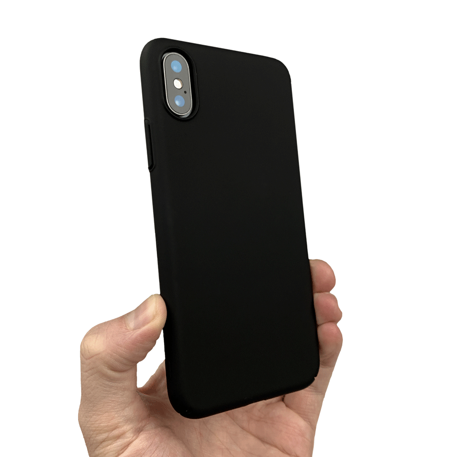 Slim Minimal iPhone Xs Case 2.0 & Screen Protector Bundle