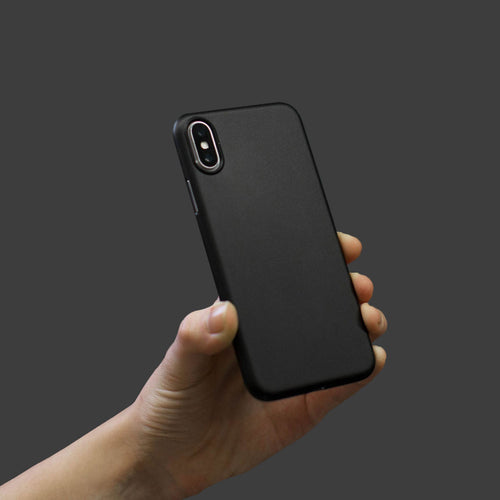 Slim Minimal iPhone Xs Case & Screen Protector