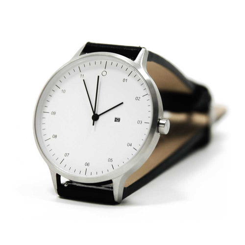 Classic Minimal Watch - M001 - White & Black