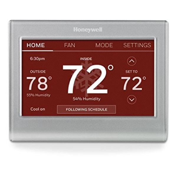 Honeywell Wi-Fi Color Touchscreen Programmable Thermostat image 5526649864241