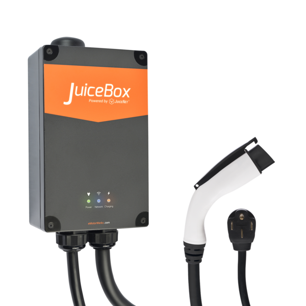 JuiceBox® Pro 40 Wi-Fi-enabled EV Charging Station - 40 Amps (Plug-In) image 5495248912433