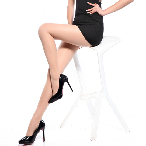 Pantyhose Solid color lady Sexy Slim Tights Anti-hook