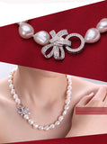 Natural cultured freshwater pearl jewelry set