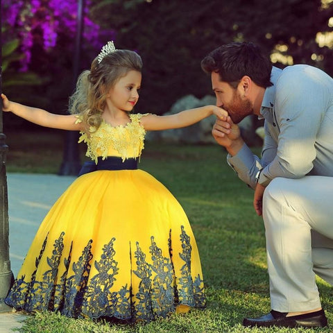 Beautiful Ball Gown Flower Girl Dress