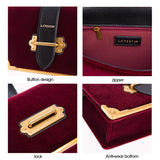Shoulder Bag Velvet Designer Handbag