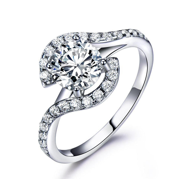 Luxury Cubic Zircon Ring
