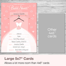 30 Bridal Shower Invitations with Envelopes - Wedding Shower Invitations - Pink