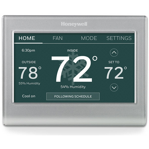 Honeywell RTH9580 Wi-Fi Thermostat Heating Image and Compatibility