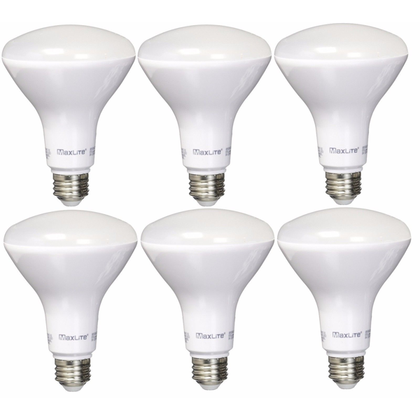 BR30 MAXLITE® 8W Dimmable Warm White Indoor (6 Pack) image 742071730220