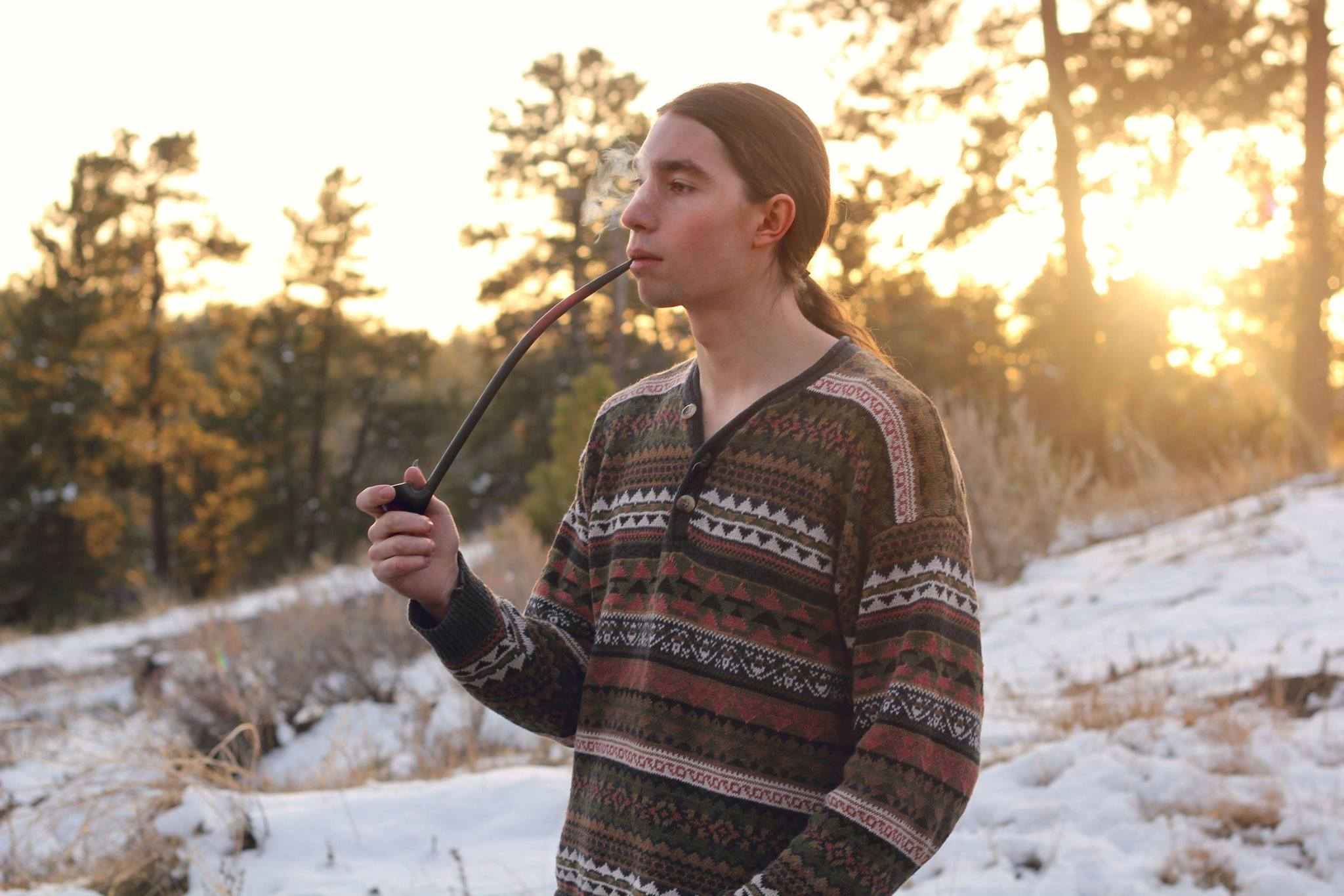 Nothing is smoother than some fresh, still, cold mountain air and pipe tobacco!