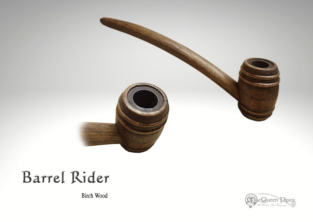 Barrel Rider MacQueen Pipes