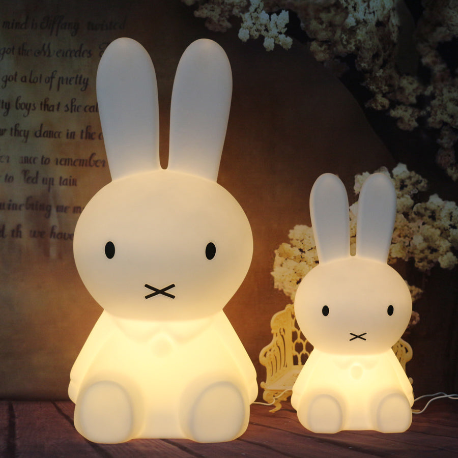 itm rabbit jadrem owl night light toys england of lamp white