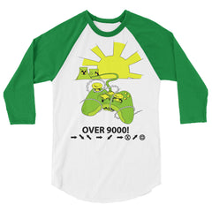 Over 9000  sleeve raglan shirt