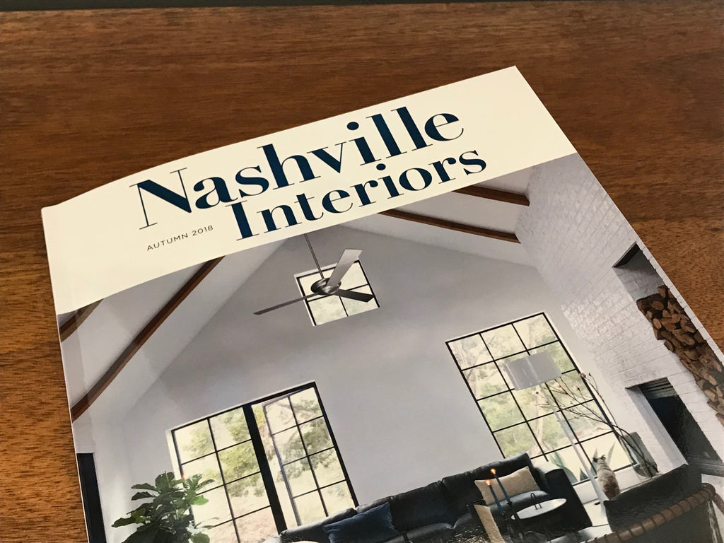 RC Featured in Nashville Interiors!