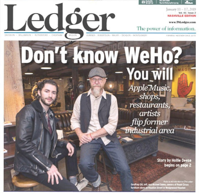 Nashville Ledger: Yes, Another Cover Story