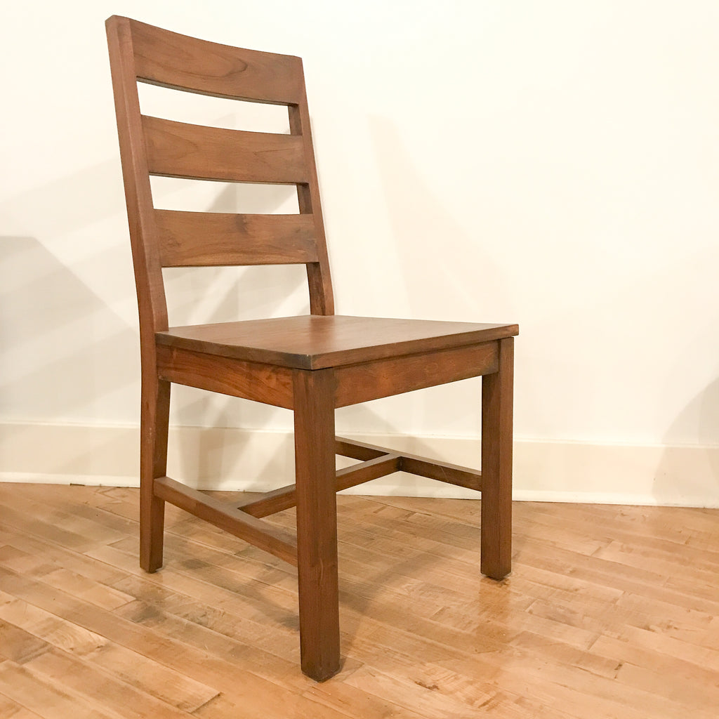 Teak School Chair, Brown_Royal Circus