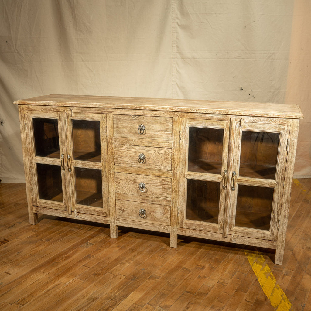 Wood + Glass Sideboard #7, Light White_Royal Circus