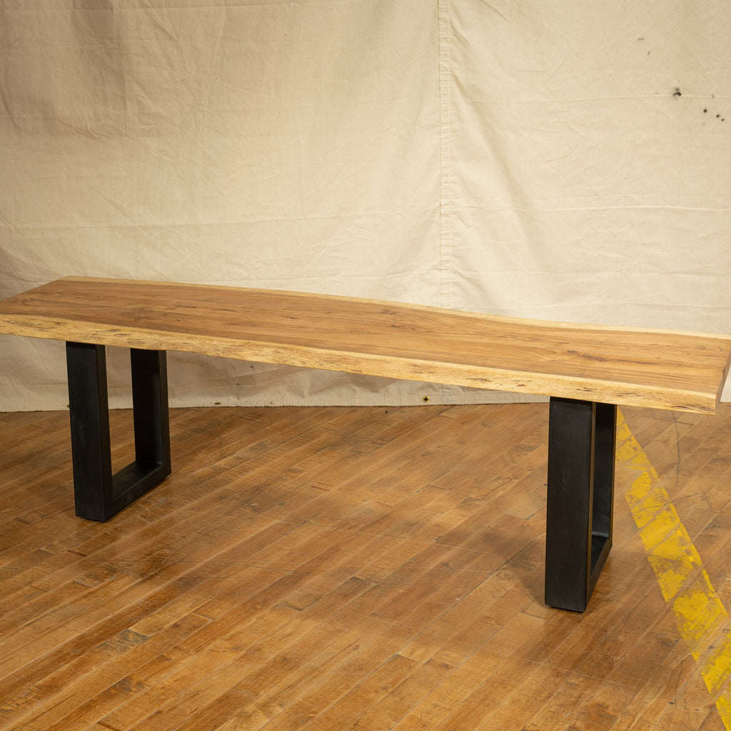 Live Edge Bench #4, Natural - Royal Circus