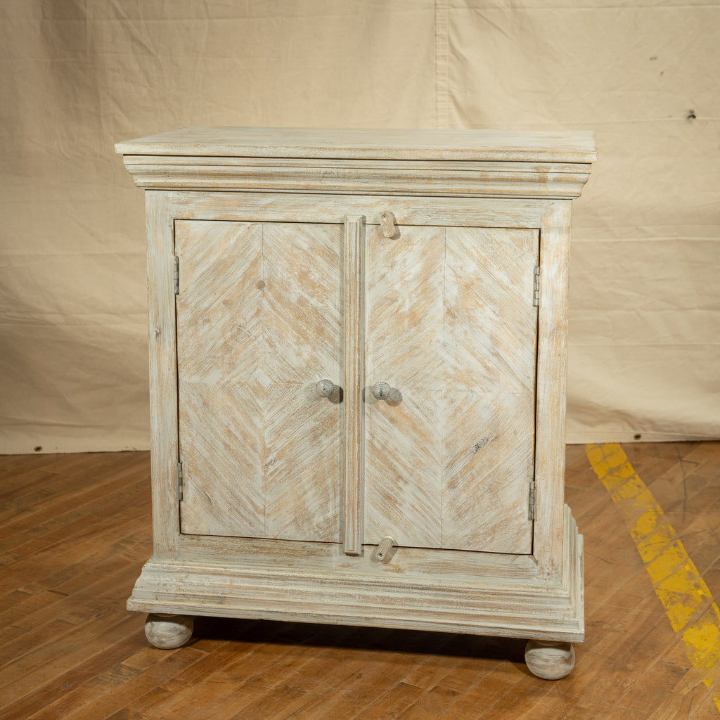 Wooden Cabinet #7, Grey_Royal Circus