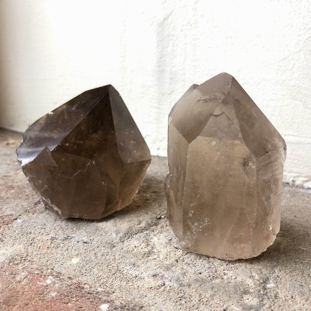 Mini Smokey Quartz Point_Royal Circus