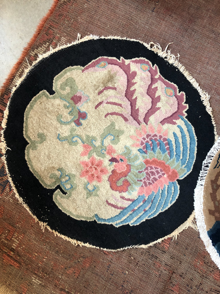 Chinese Deco Circle Rug - Pheasant_Royal Circus