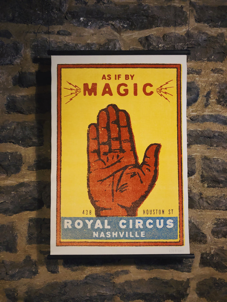Magic Hand Canvas - Royal Circus