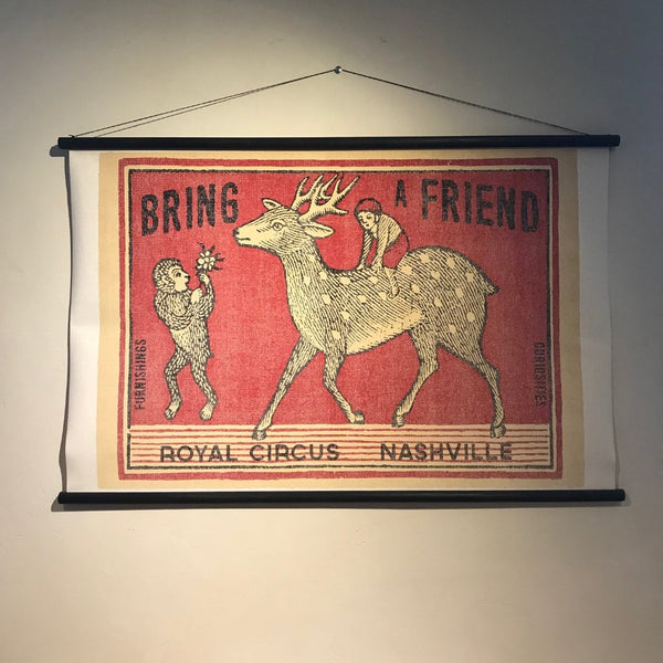 Bring A Friend - Canvas - Royal Circus