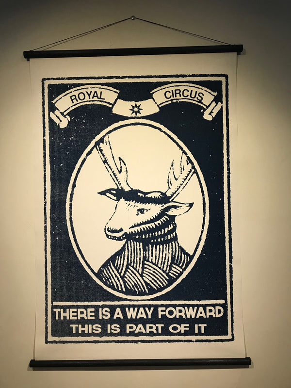 Deer Head - Canvas - Royal Circus